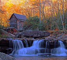 Glade Creek Gristmill by Mike Griffiths