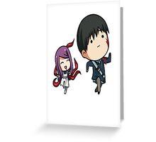 Rize and Kaneki Tokyo Ghoul Greeting Card