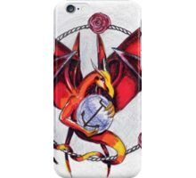 The Fire Dragon and the elements iPhone Case/Skin