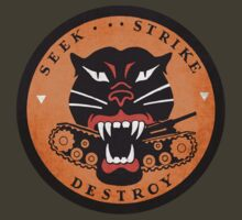 Seek Strike Destroy Tank Destroyer Emblem by LibertyManiacs