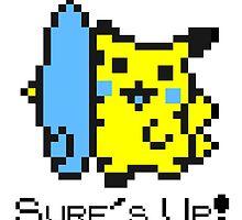 Surf's Up, Pikachu! by c-p-z