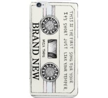 Brand New // Mixtape iPhone Case/Skin