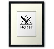 Halo Reach - Noble Framed Print
