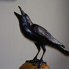 Still life crow by Judi Taylor