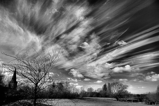 A Watched Sky Never Stops by Stuart Chapman