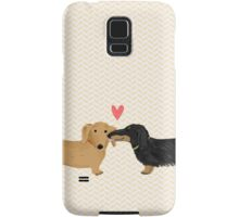 Dachshunds Love Samsung Galaxy Case/Skin