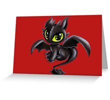 Baby Toothless Greeting Card