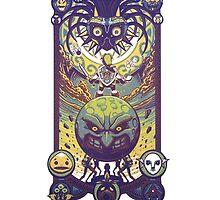 Majora's mask: The four giants by dekuscrub99