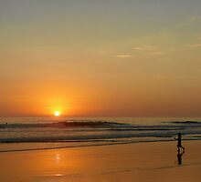 Sunset over La Jolla Shores by Christine Till  @    CT-Graphics