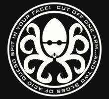 Hail Octocado! - White version by psychoandy