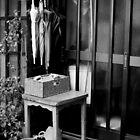 Umbrella order - Tokyo, Japan by Norman Repacholi