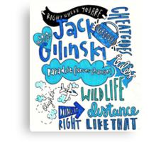 Jack Gilinsky Canvas Print
