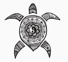 Hippie Sea Turtle T-Shirt