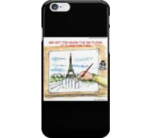 For Whom The Ink Flows  iPhone Case/Skin