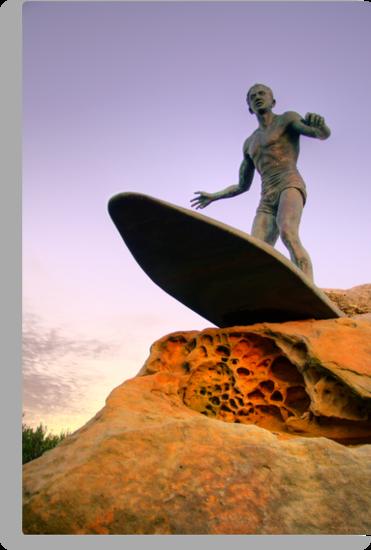 Duke Kahanamoku Monument - Freshwater Headland , Sydney Australia by Philip Johnson
