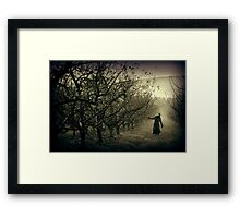 We're all looking for something... Framed Print