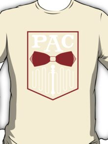 PAC Logo - Red and White T-Shirt