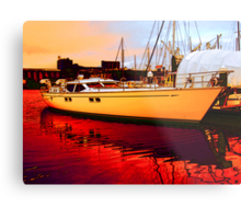 The Cruiser Metal Print