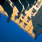 Venice gondola reflections by Yannis Larios
