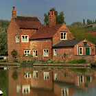 The Cottage Reflects by SimplyScene
