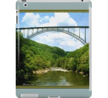 The Bridge Over New River Gorge iPad Case/Skin