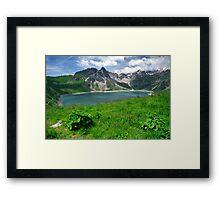 Lünersee, Austria Framed Print