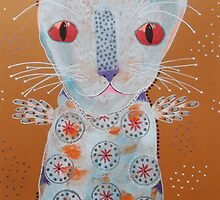 Patterned Cat by BeatriceM