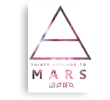 30 Seconds To Mars Universal Metal Print