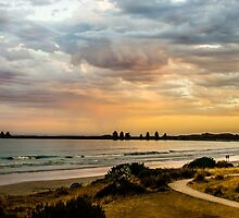 East Beach by DimondImages