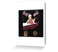 assassins creed 3 nes Greeting Card