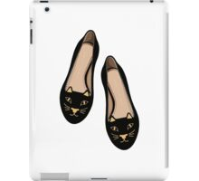 kitty flats iPad Case/Skin