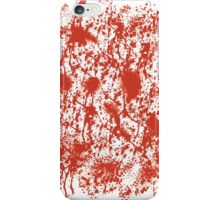 Blood Splatters iPhone Case/Skin