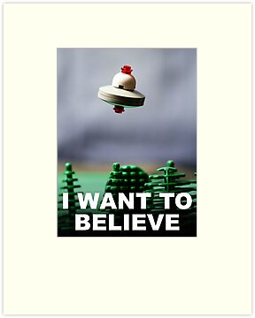 I Want To Believe by Mike Stimpson