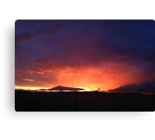 Radiant Sunset No.1 Canvas Print