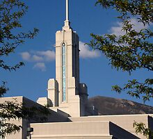 Mount Timpanogos Temple - Late Spring by Ryan Houston