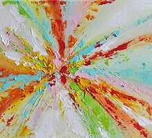 Abstract Colorful 3d Textured Art by ArtMK