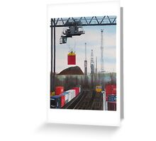 Southampton Docks 1 Greeting Card