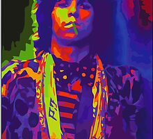 psychedelic keith by bluefrog