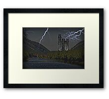 Castle Nut Framed Print