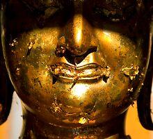 Buddha face by Juha Sompinmäki
