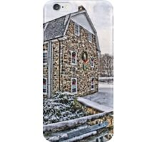 First Snow at the Mill iPhone Case/Skin