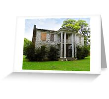 The Frith-Plunkett House Greeting Card