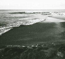rock, gravel, sand, water by adam pearson