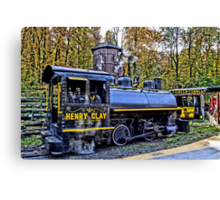 Henry Clay Steam Train Canvas Print