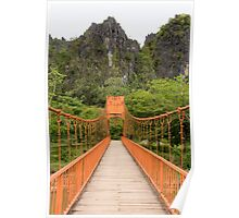 Vang Vien bridge Poster