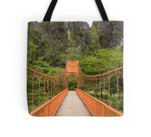Vang Vien bridge Tote Bag