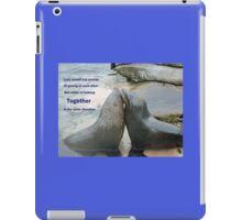 Seal Love: In the Same Direction iPad Case/Skin