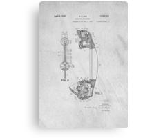 Telephone Patent Art Canvas Print