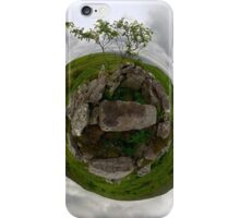 Tomb: Croaghbeg Court Tomb, Shalwy Valley, Donegal iPhone Case/Skin
