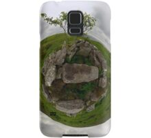 Tomb: Croaghbeg Court Tomb, Shalwy Valley, Donegal Samsung Galaxy Case/Skin